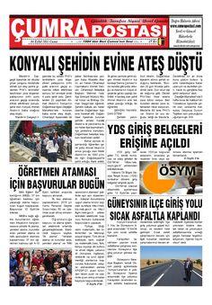 1984'den Beri Çumra'nın Sesi - Çumra haberleri, güncel Çumra haber ve fotoğrafları ile en yeni Çumra gelişmeleri Cumrapostasi.com da.