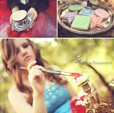 Alice in Wonderland, Themed Photo Session