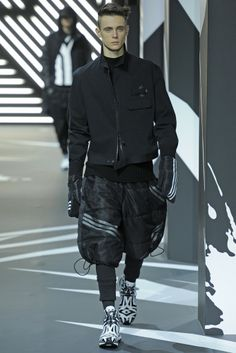 Y-3 Men's RTW Fall 2014 - Slideshow - Runway, Fashion Week, Fashion Shows, Reviews and Fashion Images - WWD.com