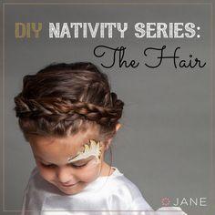 Jane.com DIY Series Nativity Angel - The Hair