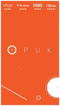 screenshot of PUK iOS application