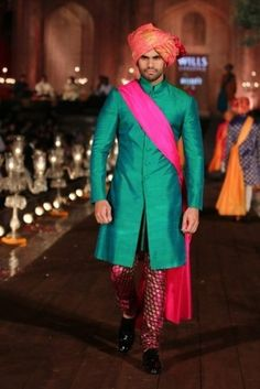 Portfolio of Rohit Bal Groom Wear