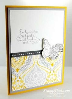 Stampin' Up! Backyard Basics ... Stamp # 126702 , Trust God .. $14.95