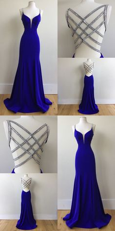 graduation vestidos Royal Blue Prom Dress For Teens, Prom Dresses, Graduation School Party Gown, Royal Blue Prom Dresses, Cute Prom Dresses, Backless Prom Dresses, Dance Dresses, Ball Dresses, Elegant Dresses, Homecoming Dresses, Beautiful Dresses, Sexy Dresses