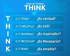 Ante de Twittear, THINK