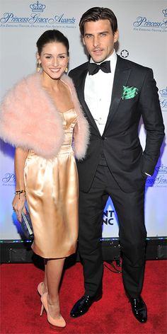 The pair looked glam as they arrived at the Princess Grace Awards Gala at the Cipriani 42nd Street in New York City.