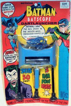 1966 Batman Batscope Dartlauncher by Tarco