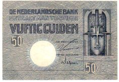 50 Gulden, 4.10.1929, De Nederlandsche Bank. Pick 47.  I    Dealer  Teutoburger Münzauktion & Handel GmbH    Auction  Minimum Bid:  100.00 EUR