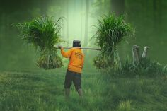 Dramatic Fantasy  Color Effects In Photoshop Blur Effect, Photoshop Tutorial, Photo Manipulation, Ps