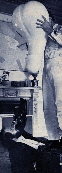 Behind the scenes: Stanley Kubrick filming A Clockwork Orange