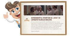 """Luați loc și haideți să vedem ce lipsește filmului din 2015, nu înainte de povesti despre experimentul """"închisorii"""" Stanford (1971). Psychology, Baseball Cards, Film, Sociology, Psicologia, Movie, Film Stock, Cinema, Films"""