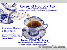 Caramel Rooibos Tea, Order now, FREE shipping@scrtc.com in New York NY - Free New York SuperAds