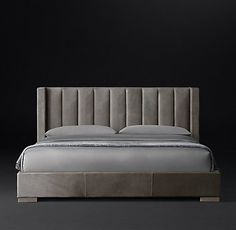 Bed Linen Manufacturers In India Key: 6980107927 Leather Platform Bed, Leather Bed, Plataform Bed, Teal Bedding, Restoration Hardware Bedding, Tufted Bed, Diy Bed, Headboards For Beds, Bed Styling