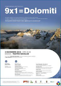 """""""9 x 1 = DOLOMITI"""" Conferenza Spettacolo a Moena   Fassa - Eventi, Foto e Notizie dalla valle"""