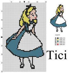 Alice nel paese delle meraviglie sul mio blog: ilblogditici