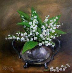 C Ceballos, Bouquet de muguets, 2007
