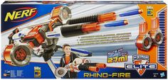 Hasbro 34276EU5 Nerf - N-Strike Elite Rhino-fire