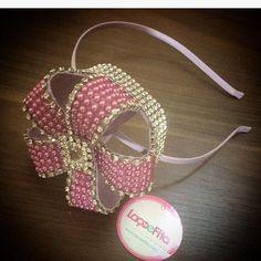 Cintillo corona en perlas