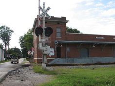 """""""Train depot in Athens"""" L& M FREIGHT DEPOT Athens, AL"""