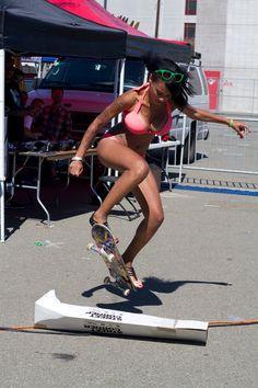 skateboarding girls - #girlswithtattoos #skate