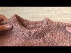 Denne opskrift er på dansk. Haralds Kjole strikkes oppefra og ned. Bærestykket strikkes rundt i rib med udtagninger. Skørt og ærmer strikkes i glatstrik og afsluttes begge af en ombukket kant. Halskanten bukkes ned og sys fast til vrangsiden, så der dannes en løbegang til en elastik – således kommer kjolen nemt over ho Baby Toms, Elastic Thread, Knit In The Round, Circular Needles, Holiday Sweater, Knitting Patterns, Sweater Patterns, Work Tops, Stockinette