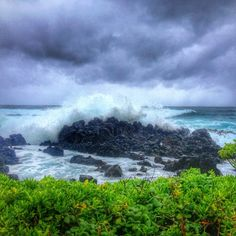 yogalovingypsyIselle gave us huge waves, a little rain, some wind, much hype, and little action. Hopefully Julio will be as peaceful #hurricaneiselle #hurricanejulio