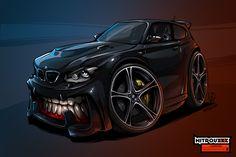 BMW 1-series BeastedUp! on Behance