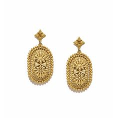 Valliyan 18Kt Gold Plated Mirza Earrings