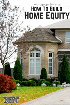Home equity is the value associated with a home, expressed in terms of dollars and cents.  Read on to learn more about how to build home equity http://www.debtroundup.com/mortgage-smarts-understanding-building-home-equity/