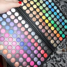 168 color palette by Laura Ouderling Personal Taste, March 2014, Palette, Eyeshadow, Box, Color, Beauty, Style, Swag