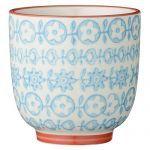 Nouveautés collection Bloomingville Latte cup  Carla - Bloomingville - Fleur Bleu