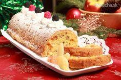 Tradičný biskupský chlebíček  Bishop's Fruit Bread Czech
