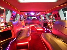 Best limo service in Kansas City! Great prices on limousine, party buses, trolley limos, chauffeur sedan and SUV service. Airport and corporate transportation Airport Transportation, Transportation Services, Luxury Van, Bus Interior, Party Bus, Overland Park, Mood Light, Stargazing, Autos
