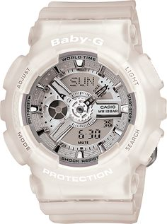 BA110-7A2 - Baby-G White - Womens Watches | Casio - Baby-G