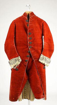 Suit 1780 The Metropolitan Museum of Art