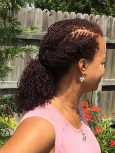 "Sisterlocks Hairstyles 242 Likes 11 Comments  Tammy Brown Imlovelocd On Instagram ""My"