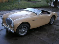 34-Years-Owned 1955 Austin Healey 100-4