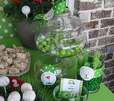 golf party ideas - sweets