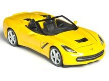 2014 Chevy Corvette Stingray Convertible 1/24 Yellow