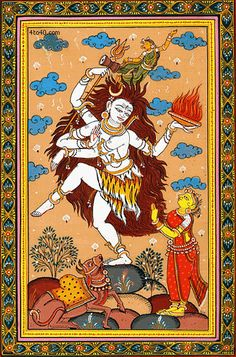 Shiva's Tandava Dance: Tandava Nritya, Anandatandava, Shrishti, Samhara, Sthiti, Tirobhava, Lasya, Jarita Lasya, Yauvaka Lasya, Anugraha, Creation, Destruction, Preservation, Salvation, Illusion, Shiv, Parvati, Indian God, 108 karanas, 32 anghaharas, Bharat Muni, Ananda Tandava, Rudra Tandava, Tripura Tandava, Sandhya Tandava, Samara Tandava, Kaali Tandava, Uma Tandava and Gauri Tandava