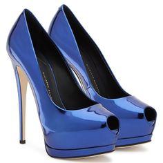 Super Sharon - Pumps - Blue   Giuseppe Zanotti