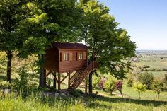 Check out this awesome listing on Airbnb: Aroma(n)tica TreehouseinMonferrato - Treehouses for Rent in San Salvatore Monferrato