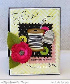 So Glad We're Friends by mrupple - Cards and Paper Crafts at Splitcoaststampers