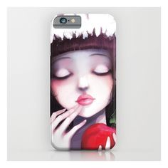 Snow White iPhone & iPod Case ($35) ❤ liked on Polyvore featuring accessories, tech accessories and iphone & ipod cases