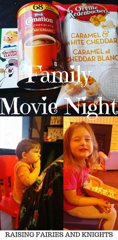 Family Movie Night - Do you celebrate Family Movie Night at your house?  What makes it a success?  Try these tips below to make any family movie night with your kids special.