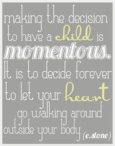 let your heart walk around...