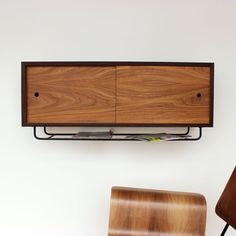 Wall storage cabinet for the bathroom