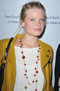 Melanie Thierry in Van Cleef & Arpels Flagship Opening Cocktail Place Vendome