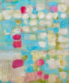 18 to the 5 to the come what may - thérèse murdza #colorful #abstract #art