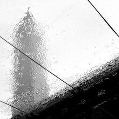 Taipei 101 in the rain.